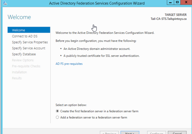 aws how to make an instance domain controller